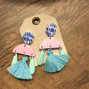 ANTHROPOLOGIE tassel earrings